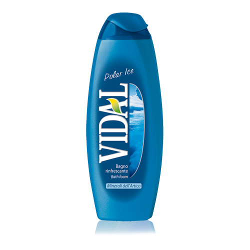 Vidal Bagnoschiuma Rinfrescante Polar Ice 500 Ml