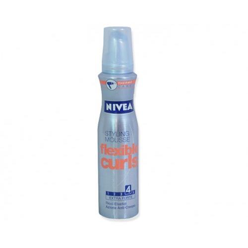 Nivea Mousse Hair Care Per Capelli Modella Ricci 150 Ml