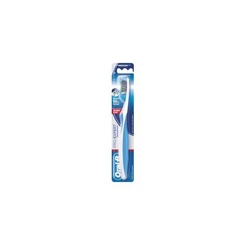 Oral-b spazzolino medio proexpert crossaction extra clean setole medie dimensione testina 40