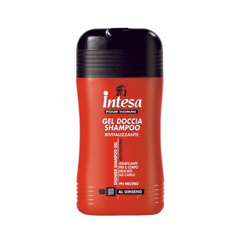 Intesa Doccia Shampoo Gel Rivitalizzante Al Ginseng 250 Ml