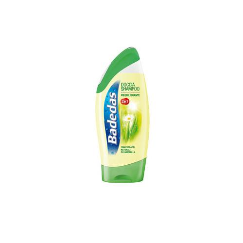 Badedas Doccia Shampoo Corpo Linea Freschezza Riequilibrante 2 In 1 Con Estratti Naturali Di Camomilla 250Ml