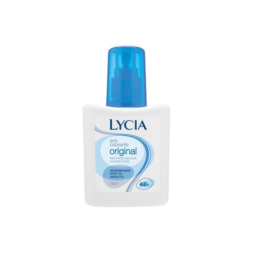 Lycia Deodorante Senza Alcool Original Vaporizzatore Da 75 Ml