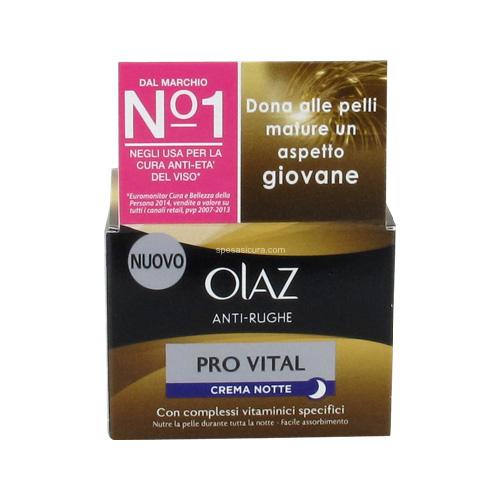 Olaz Provital Crema Antirughe Notte 50 ml
