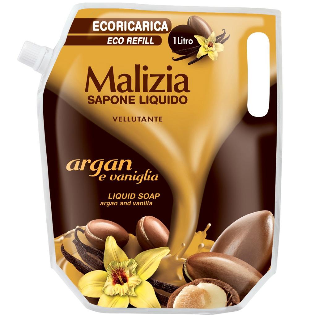 Malizia Sapone Liquido Argan 1 Lt Ricarica
