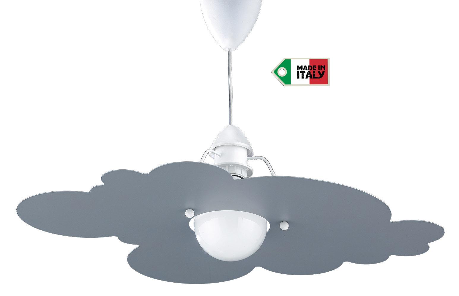 Lampadario modello nuvola a basso consumo per camerette bambini