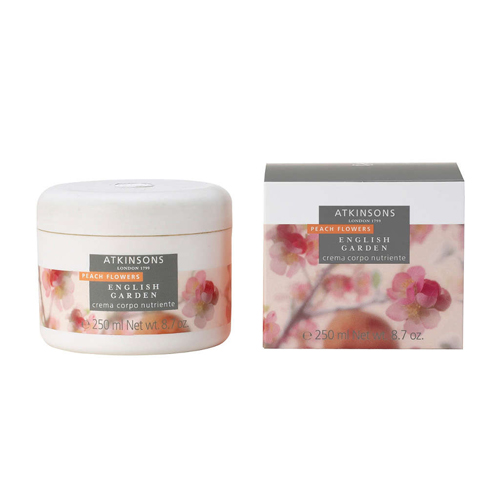 Atkinsons English garden  Peach Flowers  Crema corpo nutriente 250 ml