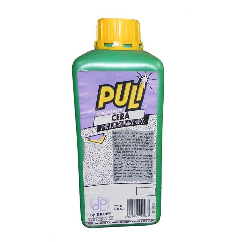 Cera per linoleum gomma e vinilico Puli 750 ml