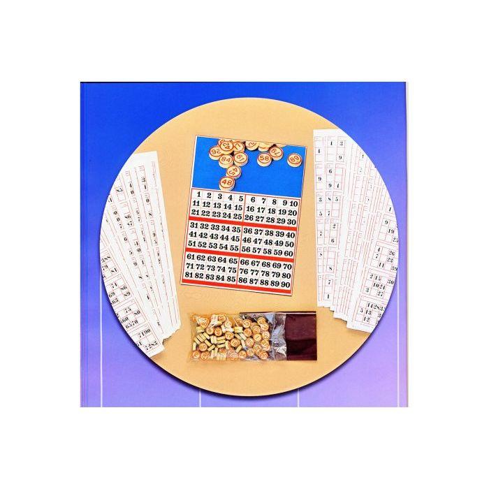 Tombola da 600 cartelle con 90 pallini