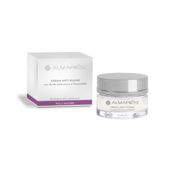Almars  Crema viso antirughe con acido ialuronico 50 ml