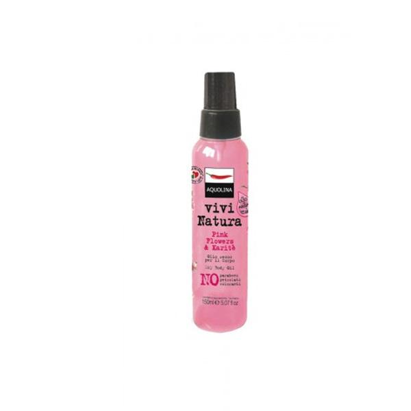 Aquolina  Olio corpo pink flowers  karite 150 ml