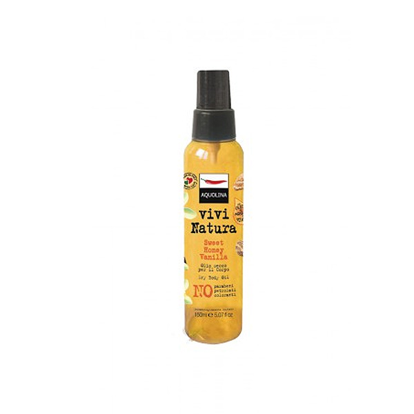Aquolina  Olio corpo sweet honey vanilla 150 ml