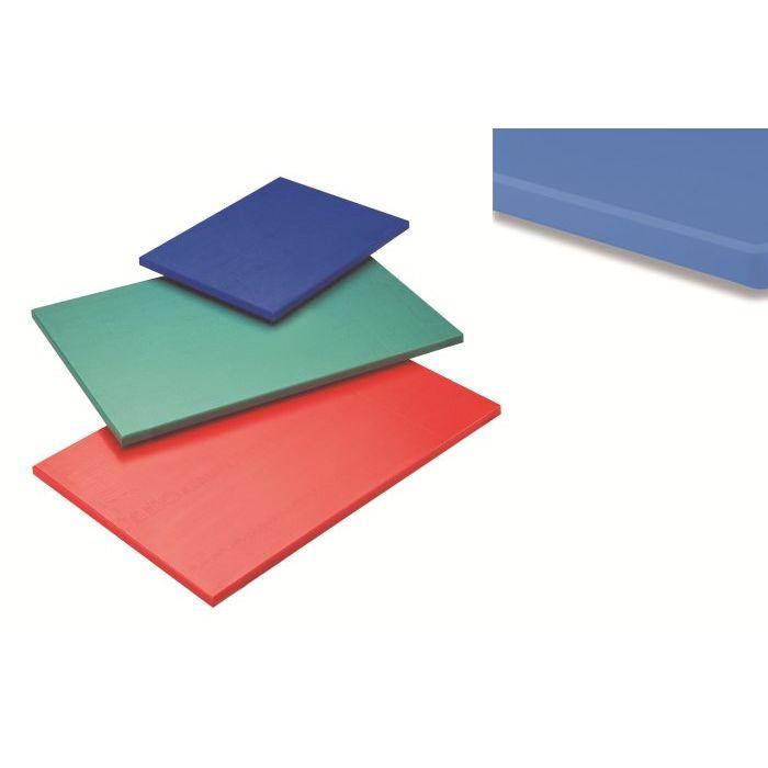 Tagliere polietilene senza fermo 60x40x15 cm Blu