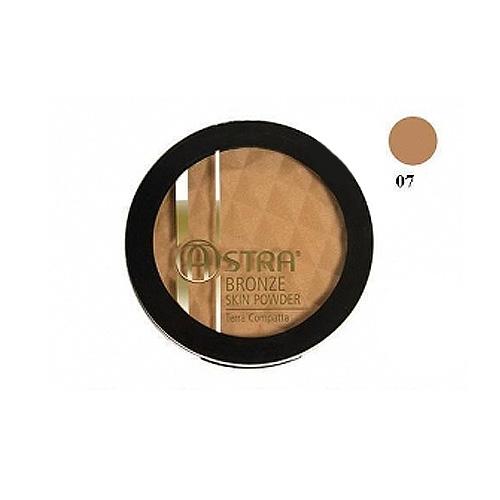 Astra  Bronze skin powder  terra abbronzante compatta 07 biscuit