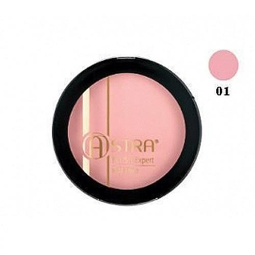 Astra  Blush expert mat effect  fard 01 nude rose