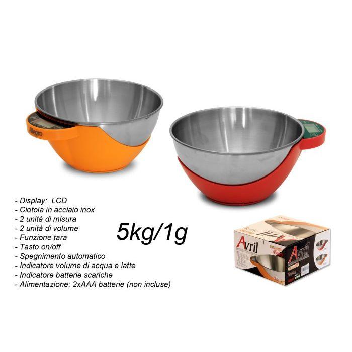 Sinsin AF Bilancia da Cucina Elettronica Avril 5 Kg C111822