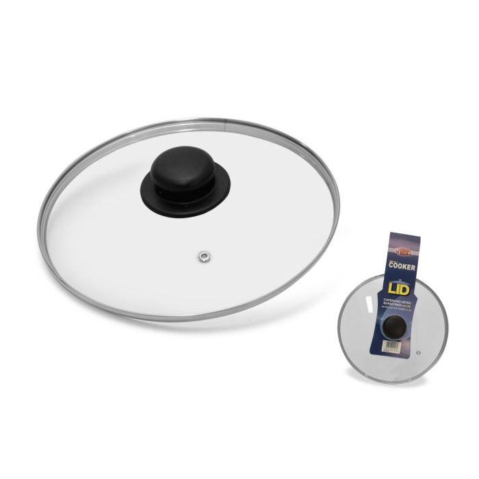Sinsin AF Coperchio Vetro e INOX 32 cm C105326