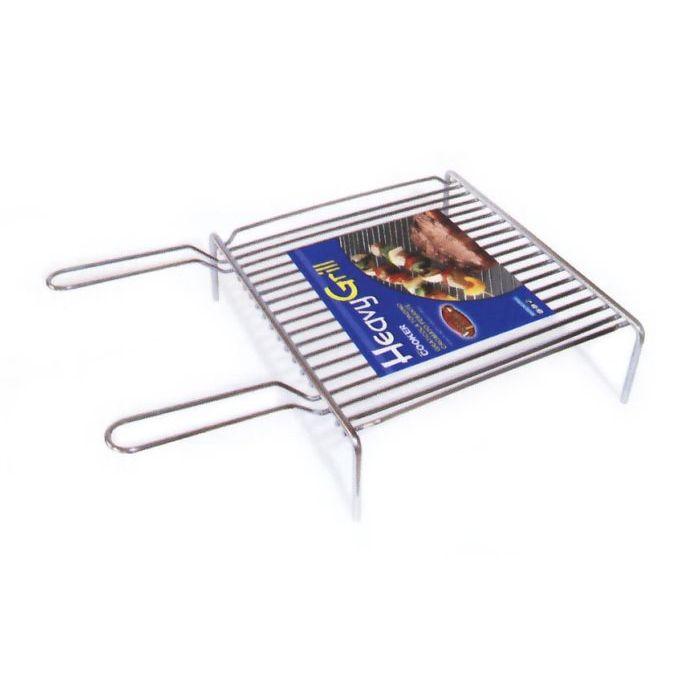 Sinsin AF Griglia Barbecue Tondino Cromato 50 x 35 cm