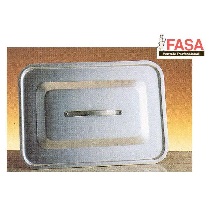 Fasa Coperchio Rettangolare Alluminio 45 x 30 cm
