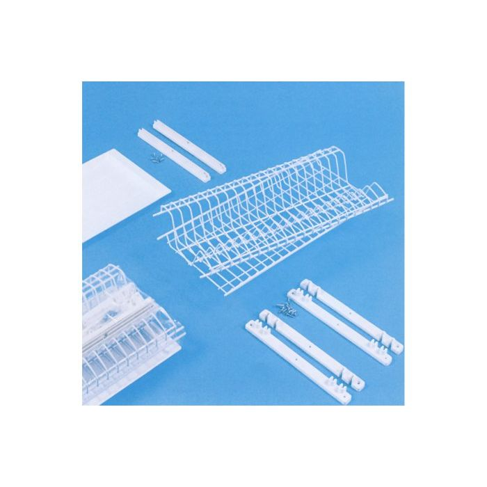 Scolapiatti pensile in plastica con vassoio Dimensione 86 cm
