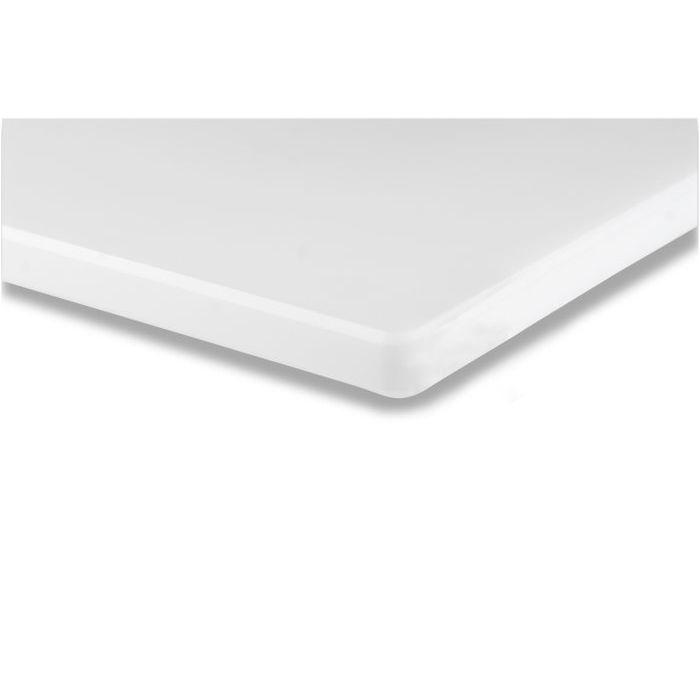 Bertoli Tagliere Polietilene 50 x 30 x 15 cm Bianco