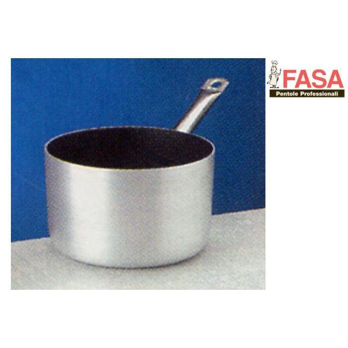 Fasa Casseruola Alta Alluminio Teflon 1 Manico 24 cm