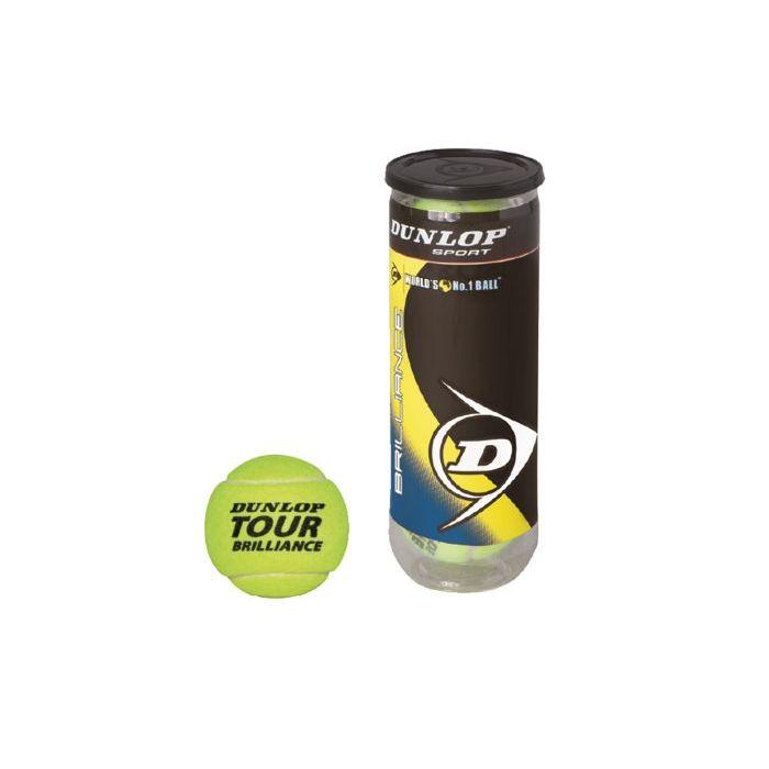 Sinsin Tennis Pallline Dunlop Tubo 3 Pezzi