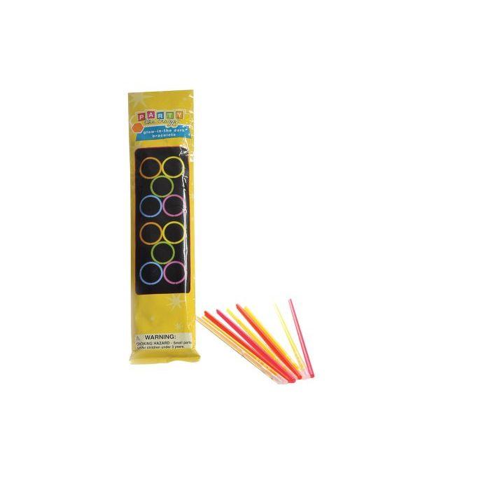 Sinsin Bracciali Glow Confezione 10 Pezzi