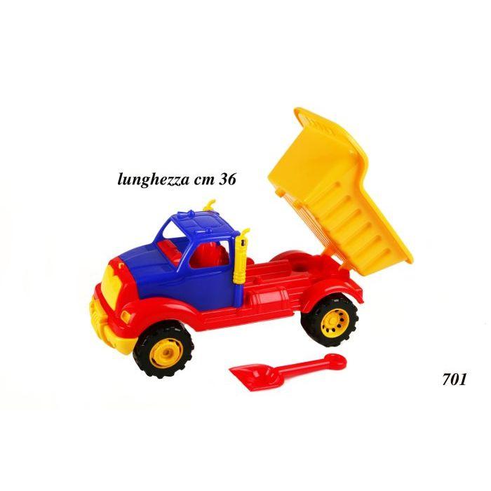 Officina dei Giochi Camion Porta Sabbia