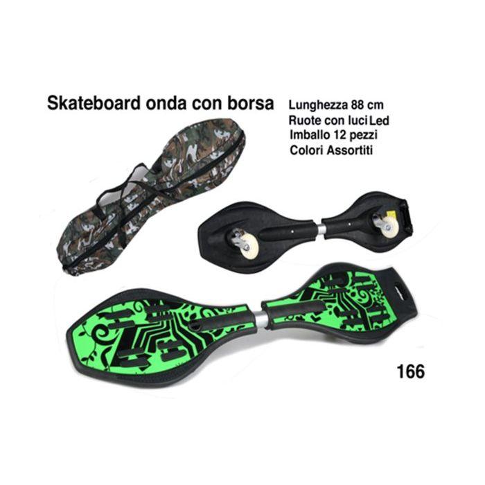 Officina dei Giochi Skaeboard Orda Rote con Led 88 cm