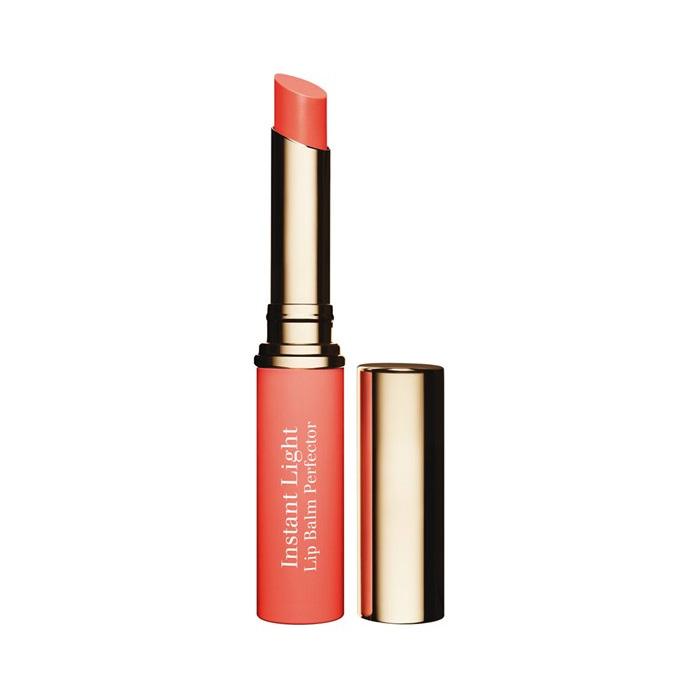 Clarins  Eclat minute baume embellisseur levres  rossetto 04 orange