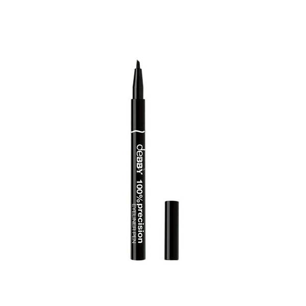 Debby  100precision eyeliner pen dual tip 01 black