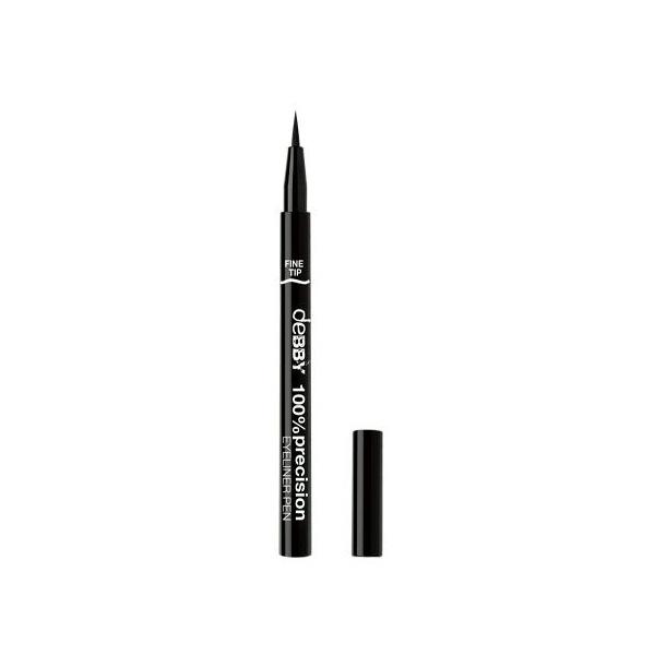 Debby  100precision eyeliner pen fine tip 01 black