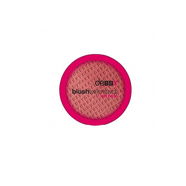 Debby  Blushexperience mat finish  fard compatto n3