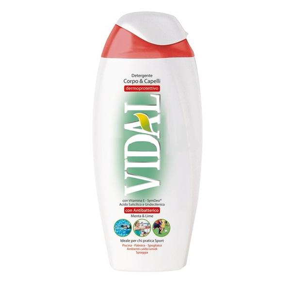 Vidal  Docciaschiuma corpocapelli antibatterico 200 ml