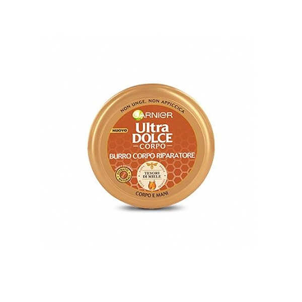 Garnier  Ultra dolce tesori di miele burro riparatore corpo e mani 200 ml