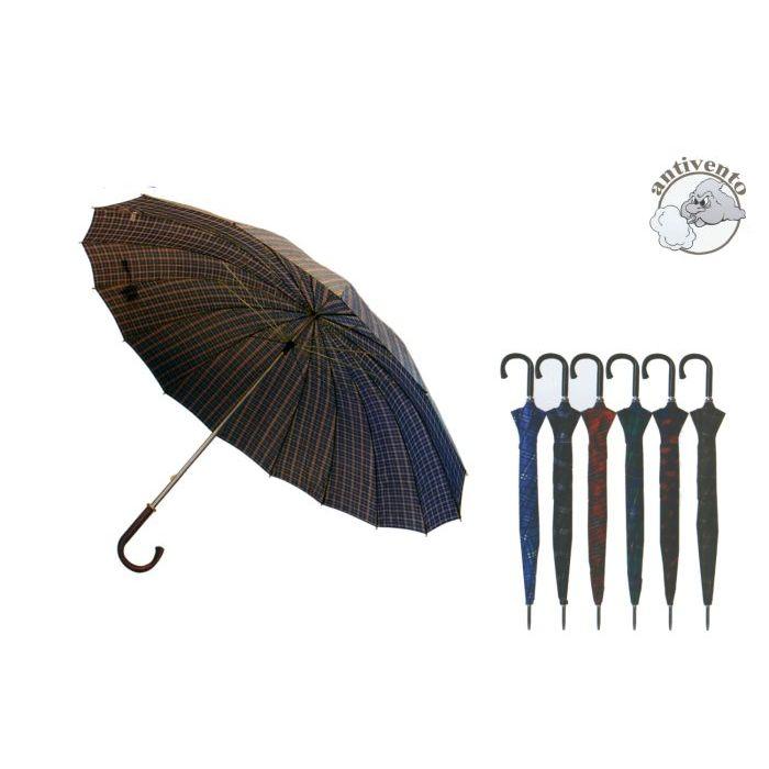 Sinsin Ombrello Golf 16 Stecche 77 cm