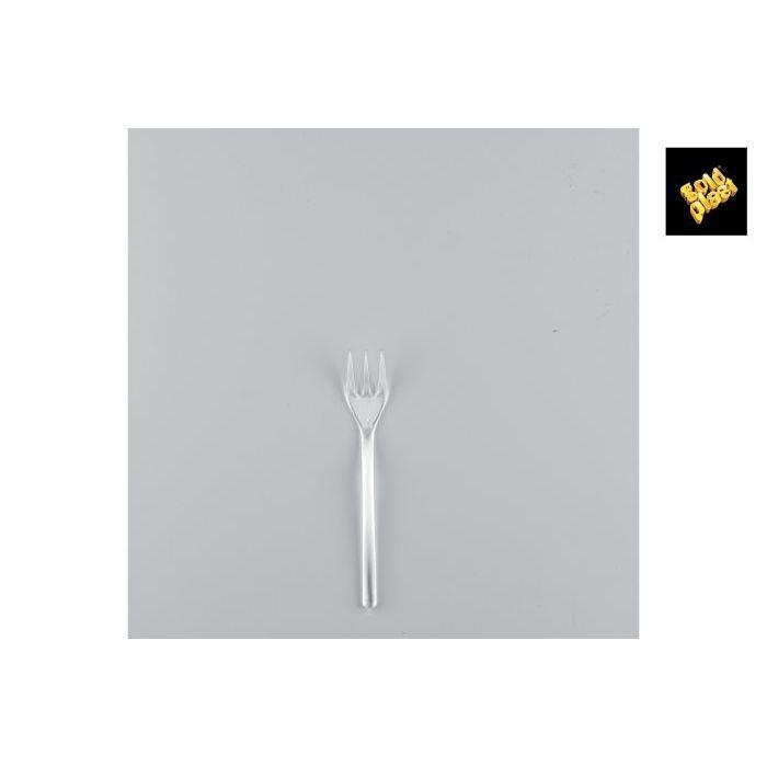 Goldplast Forchetta Mini 50 Pezzi Trasparente