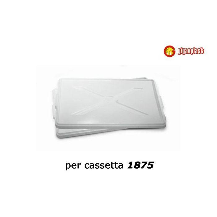 Giganplast Coperchio Cassetta Sovrapponibile 60 x 40  cm
