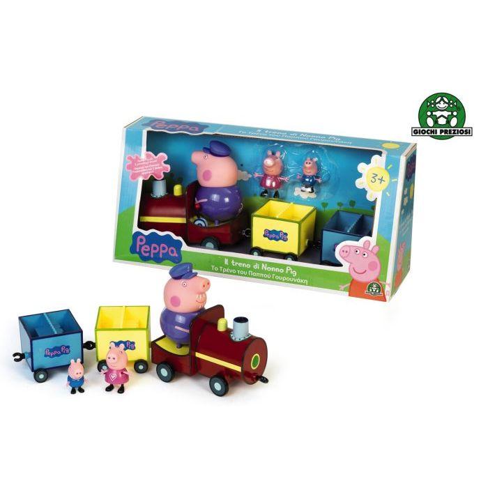 Treno di Nonno Pig Giochi Preziosi Peppa Pig con Personaggio