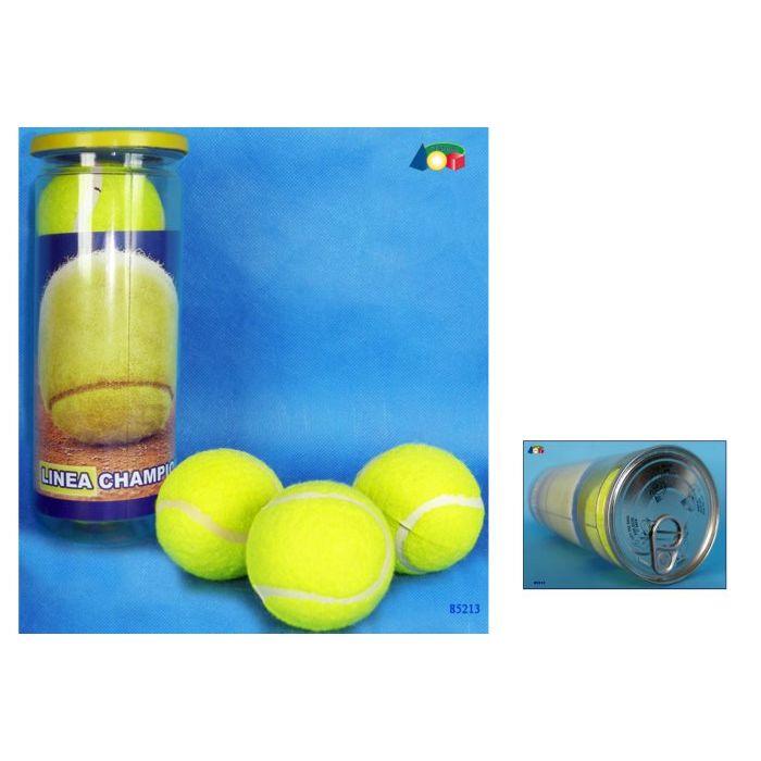 Ginmar Tubo Palline da Tennis 3 Pezzi
