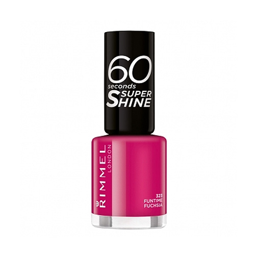 Rimmel  60 seconds super shine  smalto 323 funtime fuchsia