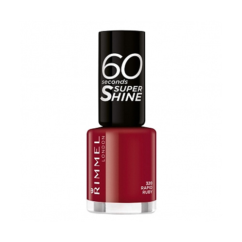 Rimmel  60 seconds super shine  smalto 320 rapid ruby