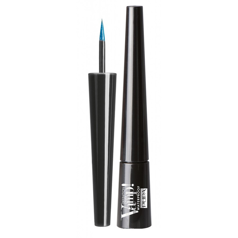 Pupa  Vamp definition liner waterproof  eyeliner 003 pearly blue