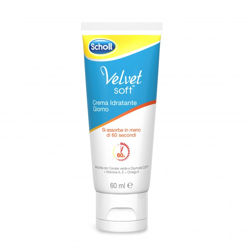 Scholl  Velvet soft crema idratante giorno piedi 60 ml