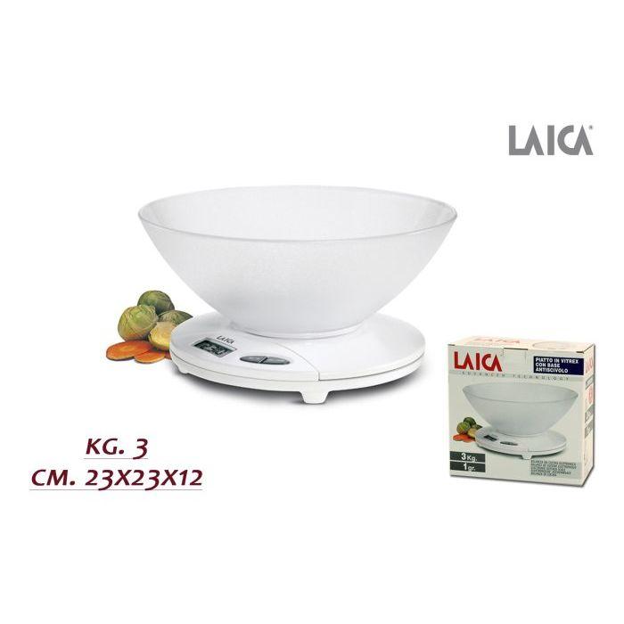 Laica Bilancia Cucina Elettronica 3 Kg EBX9230