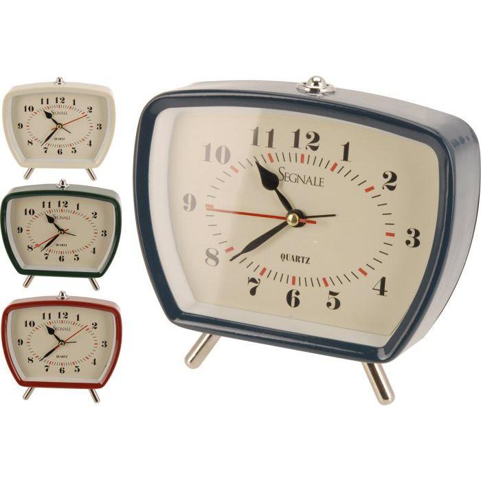 Sinsin Orologio Sveglia Vintage 14 cm