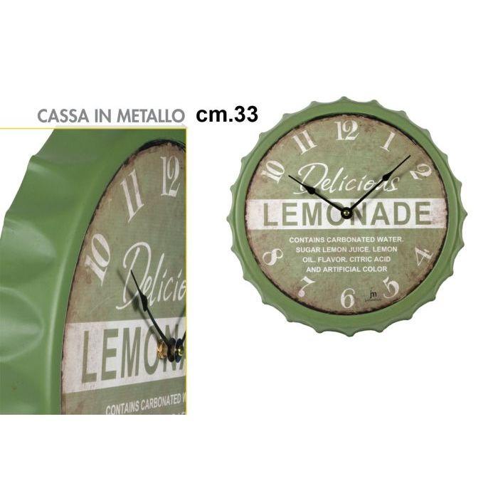 Sinsin Orologio JM Tondo Lemonade 33 cm