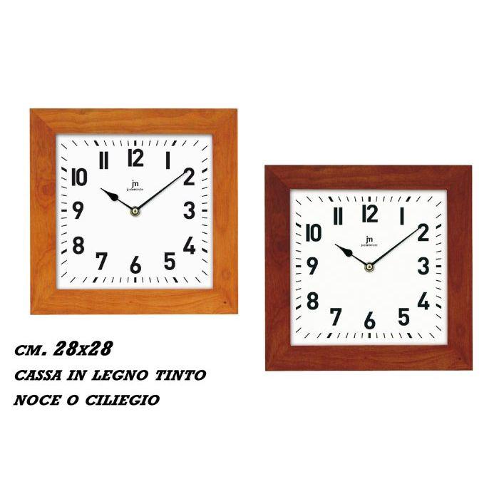 Sinsin Orologio JM Quadro Ciliegio 28 cm