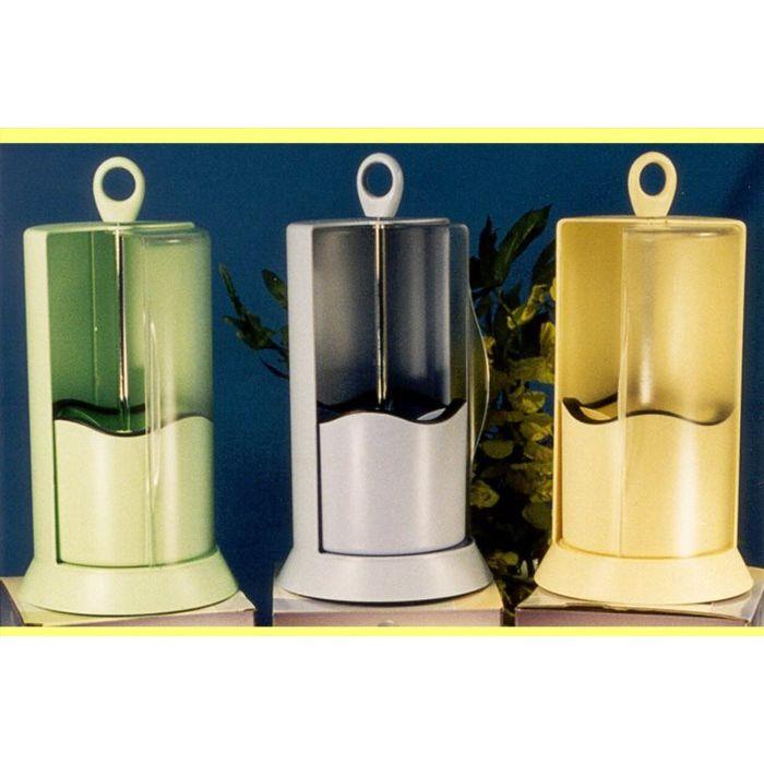 Sinsin Portaposate Verticale Girevole Verde