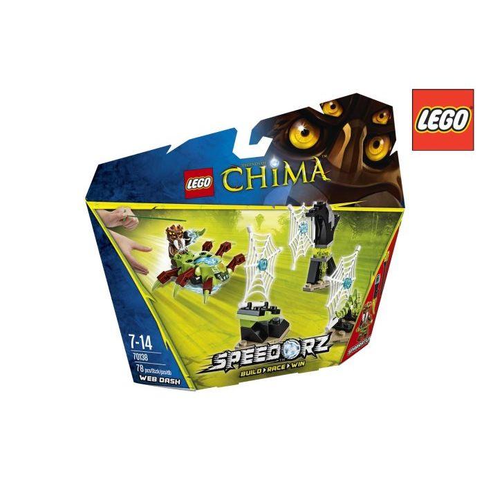 Lego Chima Slalom Fra Le Ragnatele 70138